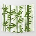 Green bamboo tree shoots pattern by artonwear