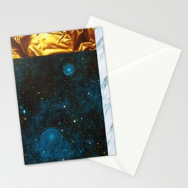Minimal Collage Artwork Stationery Cards
