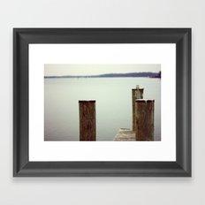 Summer Waits Framed Art Print
