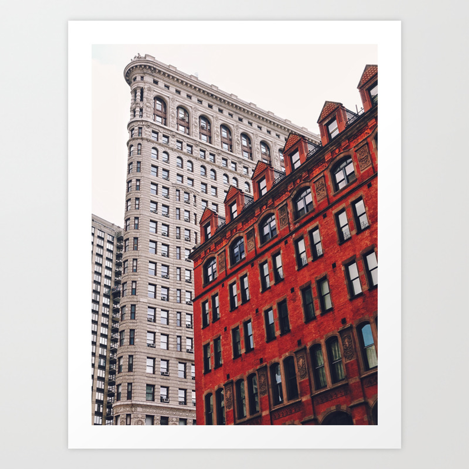 New york city flatiron building art print by newyorkphotography society6