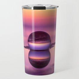 Tide Pool Sunset Travel Mug