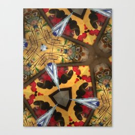 The Silverfish Canvas Print