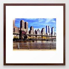 Gantry - NYC Framed Art Print