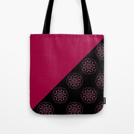 Pink and fractals Tote Bag