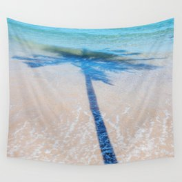 TREE IN SEA Wall Tapestry