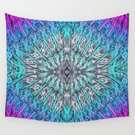 Multicolor patterns Wall Tapestry