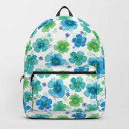 Floating Sea Flowers Backpack
