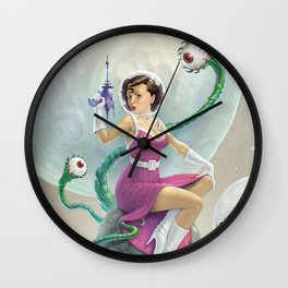 Astro Babe Wall Clock