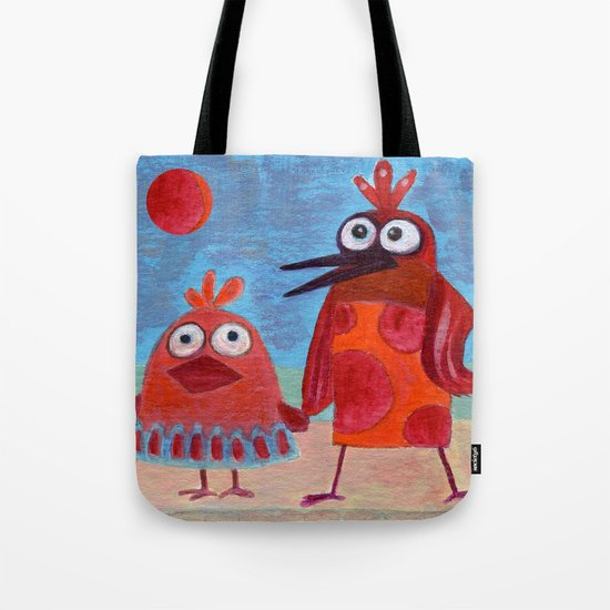 waiting for a ride Tote Bag