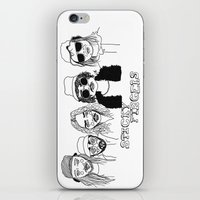 cactei iPhone & iPod Skins featuring Sticky Fingers  by ☿ cactei ☿