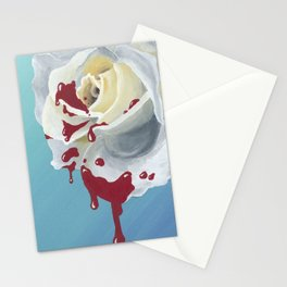 Paint It Red Stationery Cards