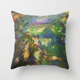 Depth of Color Throw Pillow