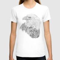 eagle T-shirts featuring Eagle by Ora Kolmanovsky