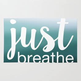 Just Breathe Rug