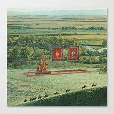 Exteriors Canvas Print