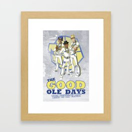 Run TMC Framed Art Print