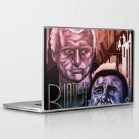 blade runner Laptop & iPad Skins featuring Blade Runner 30th anniversary by David Amblard