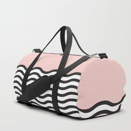 Waves of Pink Duffle Bag