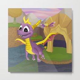 A Dragon's Destiny Metal Print