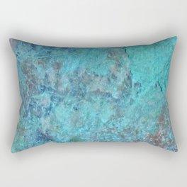 Patina Cast Iron rustic decor Rectangular Pillow