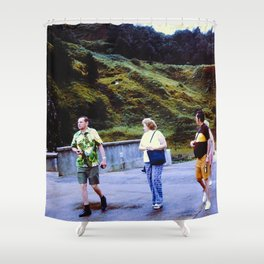 The Walkers Shower Curtain