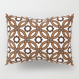 Retro Nineteen Seventies Design Pillow Sham