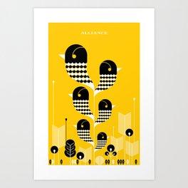 Alliance Art Print