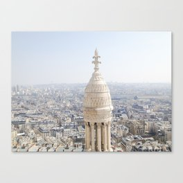 View of Paris from Montmartre Canvas Print
