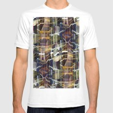 concentrated defense : concentric definition White MEDIUM Mens Fitted Tee