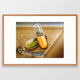 """Free-Trayed"" Framed Art Print"