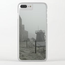Levant Mist Clear iPhone Case