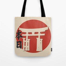 Symbols of Nippon Tote Bag