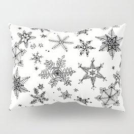 Snow Flakes Pillow Sham