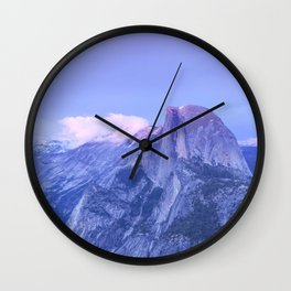 Lavendar Half Dome Wall Clock