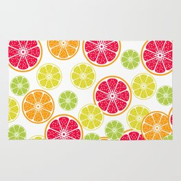 Citrus slices Rug
