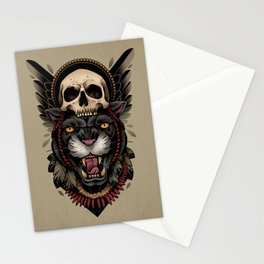 Hunt Or Be Hunted Stationery Cards