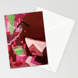 Garnet's shots Stationery Cards