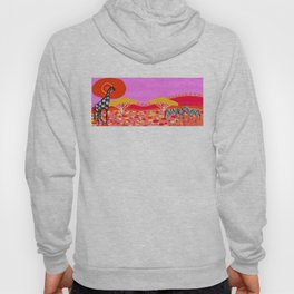 Sunset in Botswana Hoody