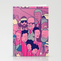 the royal tenenbaums Stationery Cards featuring The Royal Tenenbaums by Ale Giorgini