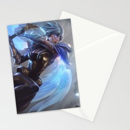 Dawnbringer Riven League Of Legends Stationery Cards