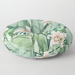 Tropical state Floor Pillow
