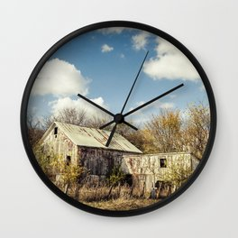 By The Riverside #8 Wall Clock