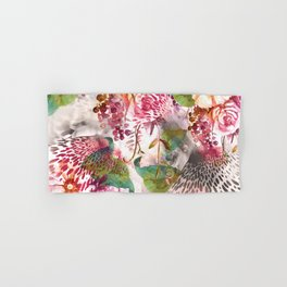 Animal flowers abstract Hand & Bath Towel