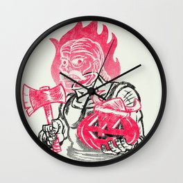 Headless Norseman Wall Clock