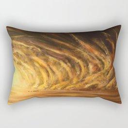Sandstorm Rectangular Pillow