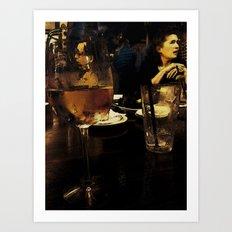 Through a Looking Glass Art Print