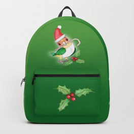 Caique Christmas style Backpack