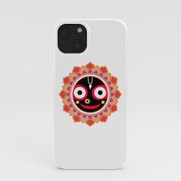 Jahannatha Mandala, Hare Krishna, The Lord of the Universe, Big Smile iPhone Case