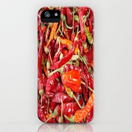 Sundried Chili Peppers iPhone Case