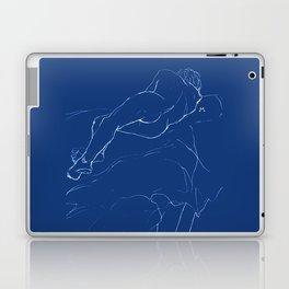 Sleeping man Laptop & iPad Skin